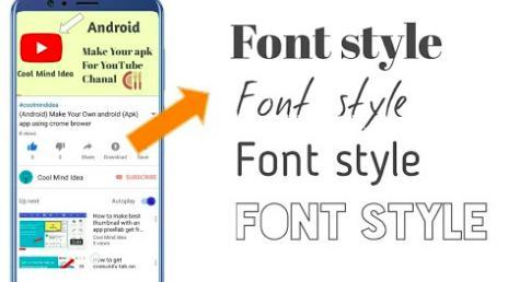 Aplikasi Font Vivo Y31 Tanpa PC