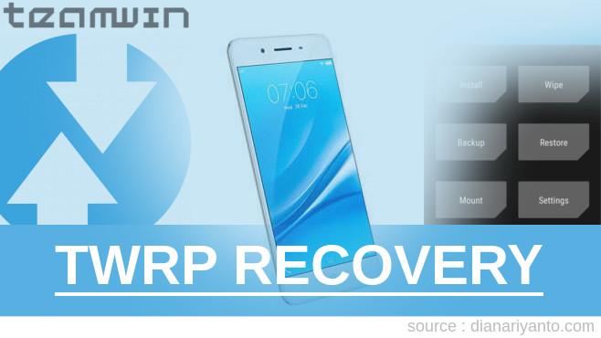 Cara Install TWRP Vivo Y55s Paling Simpel